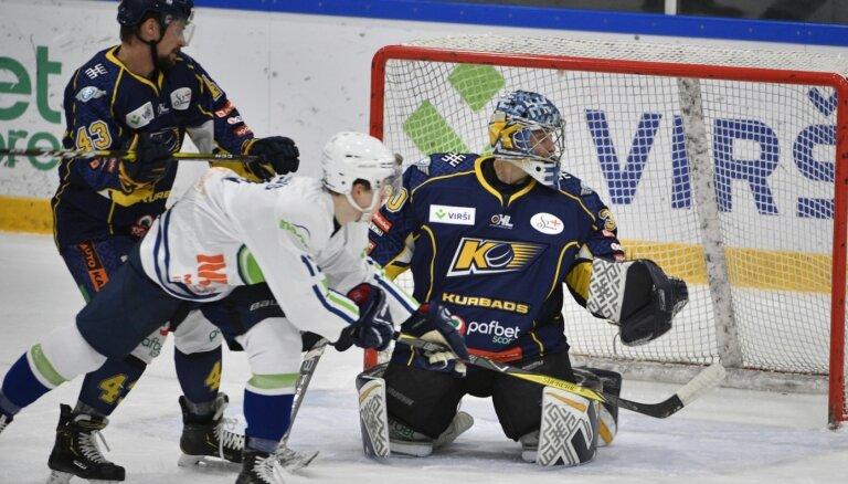 'Mogo' 'bullīšu' sērijā piekāpjas 'Kurbads' hokejistiem