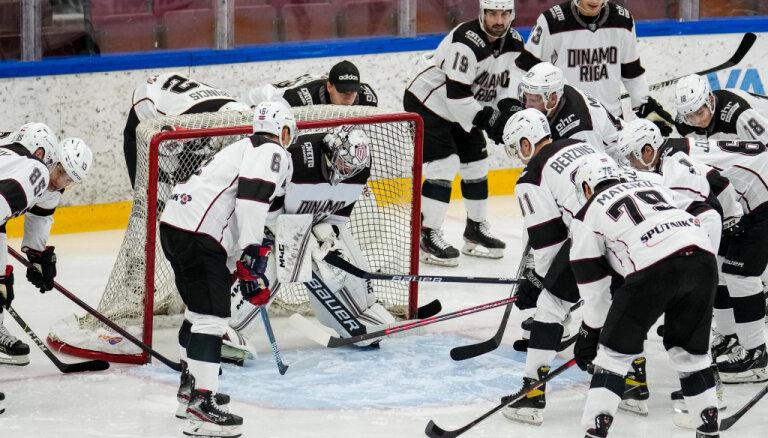 Rīgas 'Dinamo' pārbaudes spēlē atkārtoti zaudē 'Jokerit'