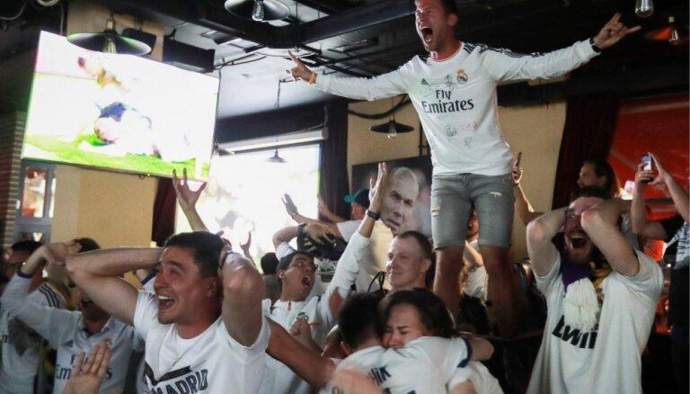 UEFA Čempionu līgas futbola fani Kijevā atstājuši vairāk nekā pusotru miljonu eiro