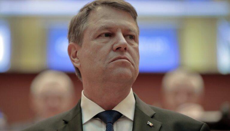'Divu ātrumu Eiropā' vienotība nav iespējama – Rumānijas prezidents EP debatē par ES nākotni