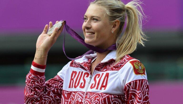 Šarapova iekļauta Krievijas tenisa izlasē Rio Olimpiādei