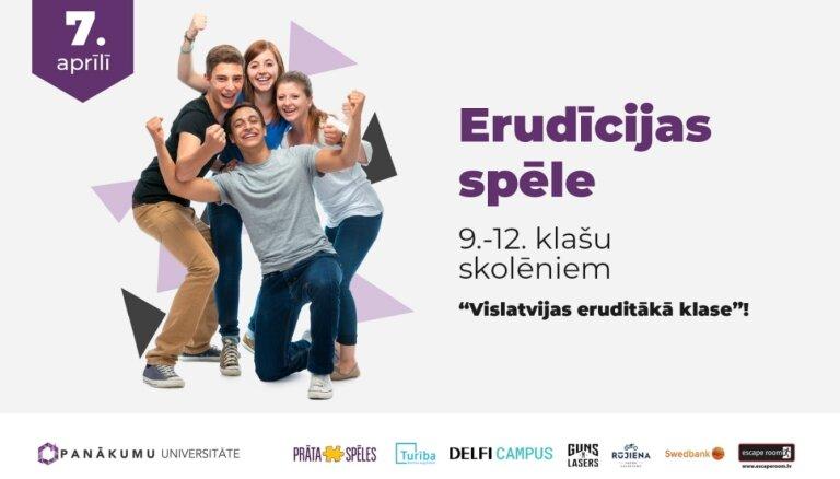 Konkursā meklē Latvijas erudītāko klasi