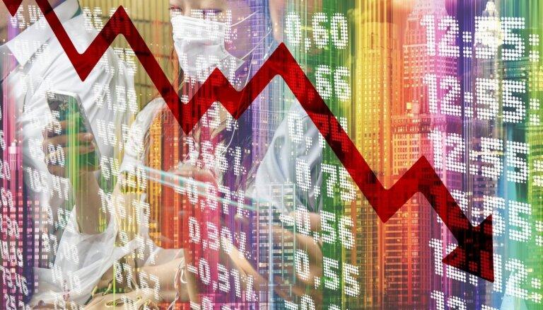 Akciju cenas Volstrītā pārsvarā krītas, bet Eiropā aug