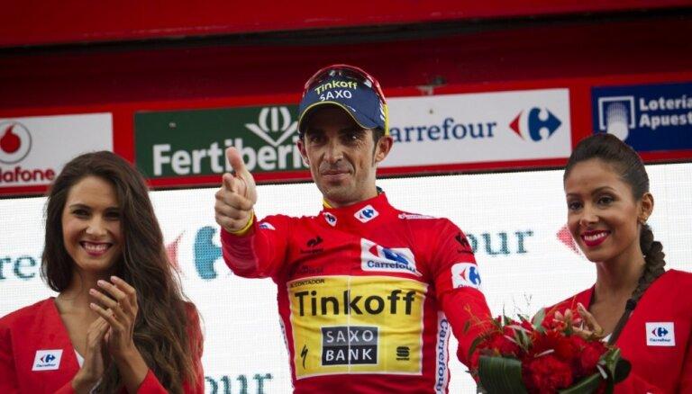 Spāņu riteņbraucējs Kontadors ceturto reizi iegūst prestižo 'Velo d'Or' balvu
