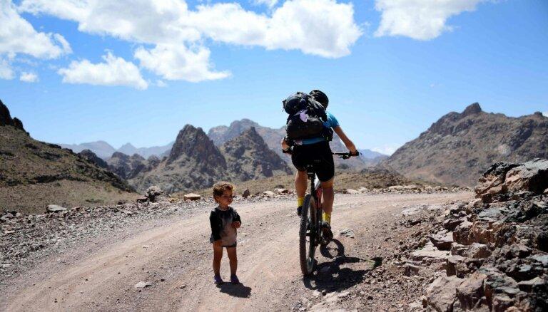 Trakie uz velosipēda. Tūkstoš kilometru Marokas peklē