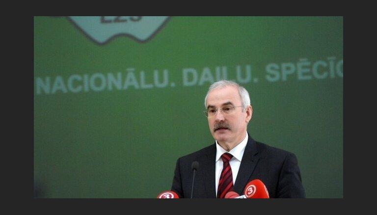LTV: кандидаты в президенты от Крестьянского союза — Дуклавс, Аугулис и Равиньш