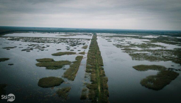 Meliorācijas sistēmu uzturēšanai valstij nodos Lubāna ezera austrumu dambi