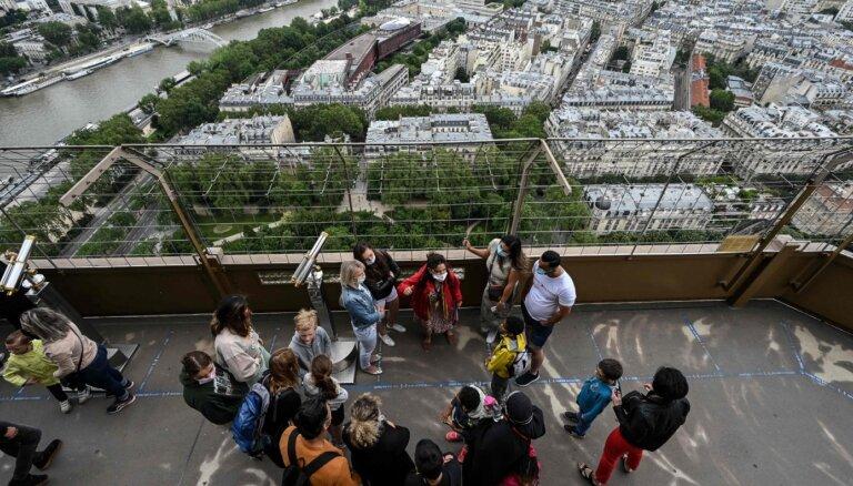 Eifeļa tornis atkal atvērts apmeklētājiem