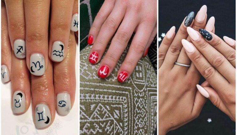 На удачу: варианты дизайна ногтей для поклонников астрологии