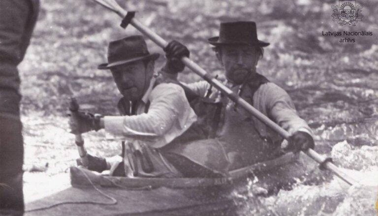 Ceļojums laikā: Šļakatas un sacensību gars Amatas laivu braucienā pirms gandrīz 50 gadiem