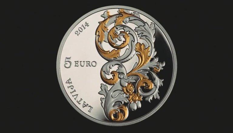 Latvijas Banka izlaiž Kurzemes barokam veltītu monētu