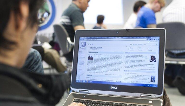 Turcijas varasiestādes bloķē pieeju interneta enciklopēdijai 'Wikipedia'
