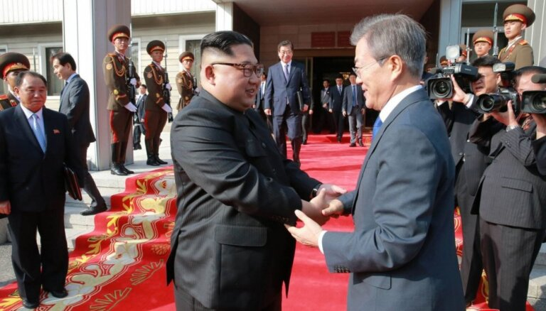 Korejas vienojas par dažu robežas sargposteņu likvidēšanu