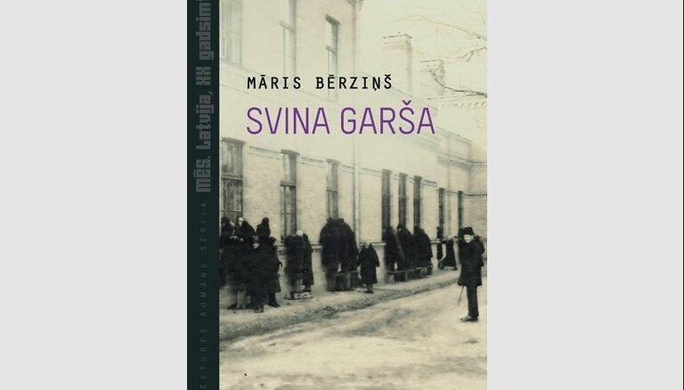 Grāmatu sērijā 'Mēs. Latvija, XX gadsimts' iznācis Māra Bērziņa romāns 'Svina garša'