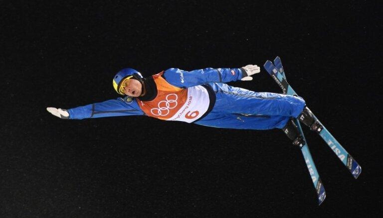 XXIII Ziemas olimpisko spēļu rezultāti frīstaila akrobātikā vīriešiem (18.02.2018.)
