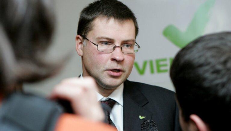 Валдис Домбровскис отработал премьером ровно три года