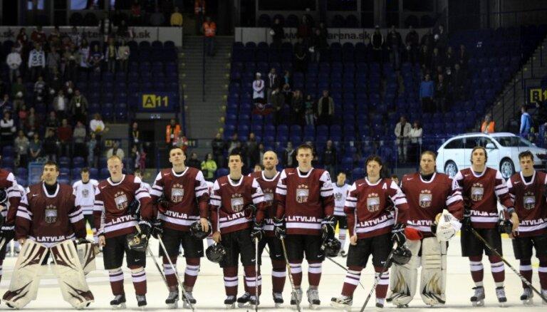 Lipmans: Latvijas hokeja izlase vēlētos dažas PČ spēles aizvadīt Jaroslavļā