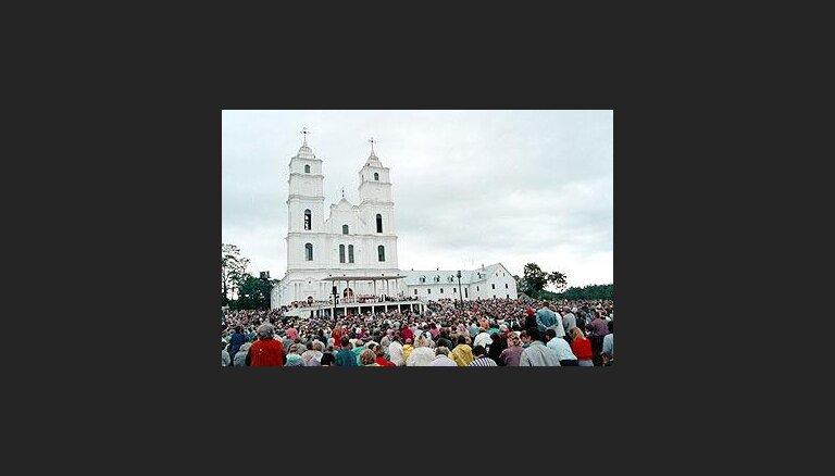Христианский праздник в латвийской Аглоне посетили 450 тысяч человек