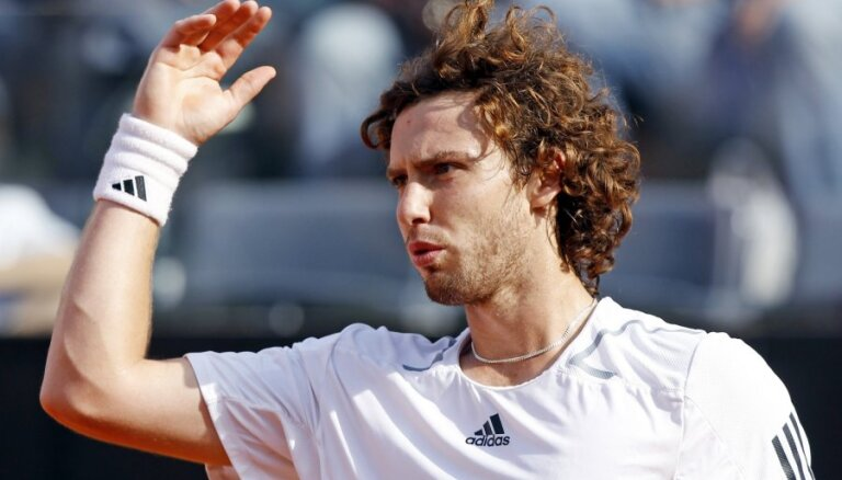 Gulbis ATP rangā zaudējis sešas pozīcijas