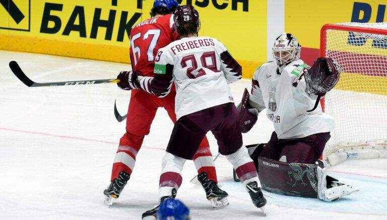 Международная федерация хоккея исправила судейскую ошибку в матче Чехия — Латвия