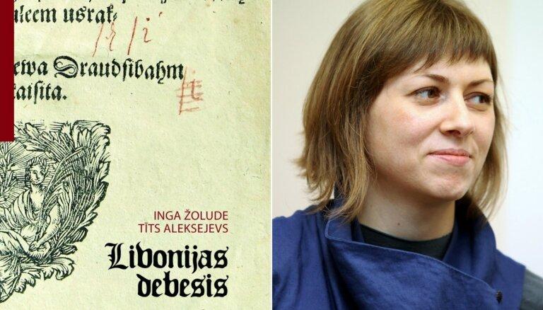Izdota Ingas Žoludes un Tīta Aleksejeva grāmata 'Livonijas debesis'