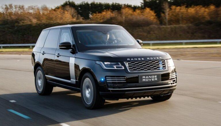 'Range Rover Sentinel' ar vairāk nekā tonnu bruņu