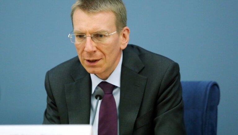 Ринкевич: Латвия не признает независимость Каталонии