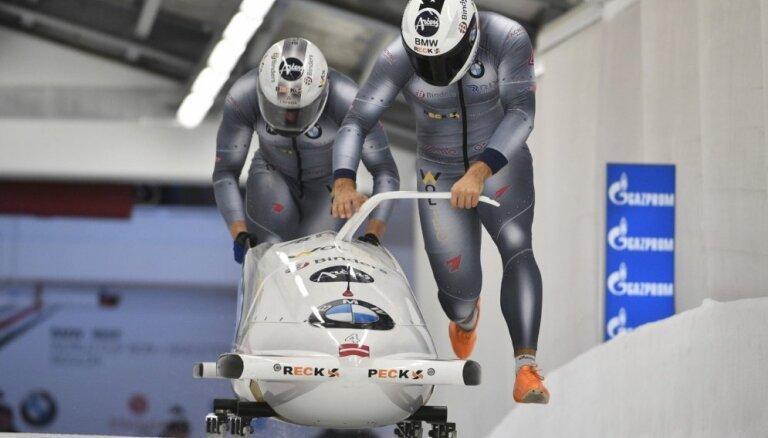 Экипаж Оскара Киберманиса — второй на домашнем этапе в Сигулде