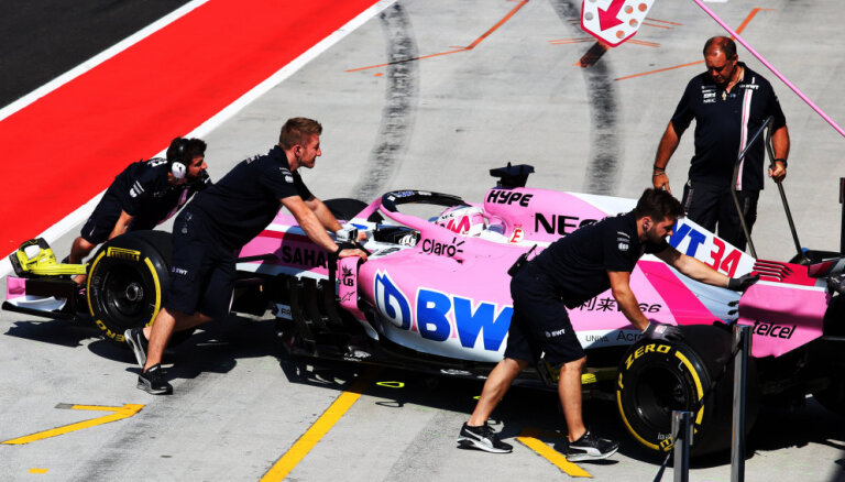 'Force India' komanda nākamajā F-1 sezonā startēs ar nosaukumu 'Racing Point'