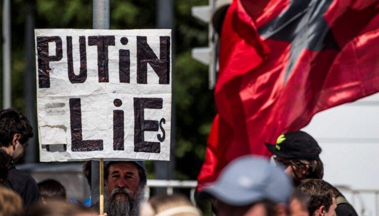 В Москве на акцию против поправок к Конституции пришли около 1 000 человек, начались задержания