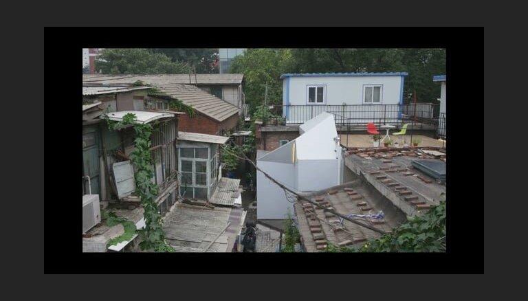 ВИДЕО: В Китае придумали дом, который можно собрать за день при помощи одного ключа