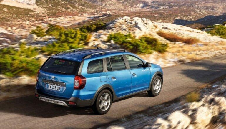 Rumāņu 'Dacia' izstrādājusi paaugstinātas pārgājības universāli