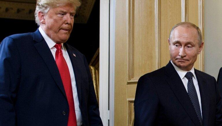 Опрос: 18% латвийцев считают, что встреча Путина и Трампа улучшит отношения США и РФ