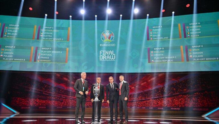 Состоялась жеребьевка группового этапа чемпионата Европы-2020 по футболу