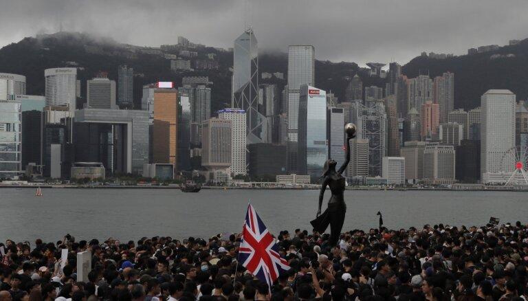 Ķīna aizturējusi Lielbritānijas konsulāta Honkongā darbinieku