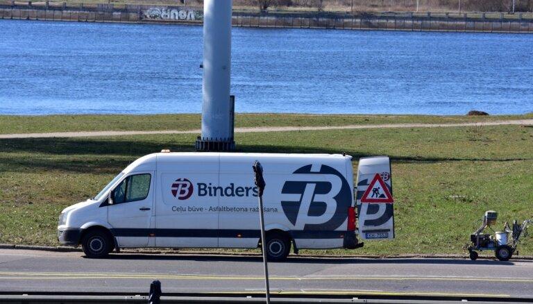 Ceļu būves firmai 'Binders' pērn rekordliels apgrozījums