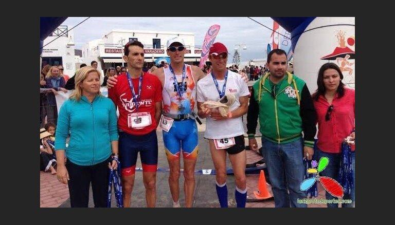 Латвийский атлет продолжает занимать призовые места на Канарах