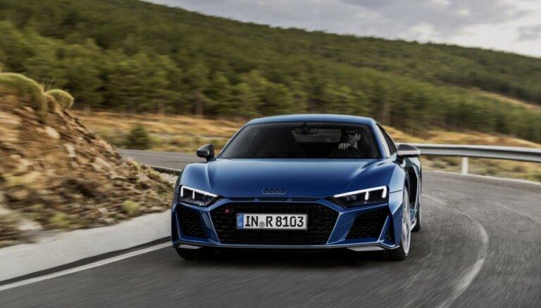 'Audi R8' pēc modernizācijas kļuvis vēl ātrāks