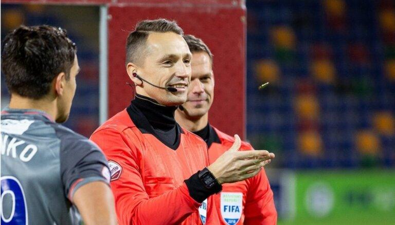 Treimaņa brigādei Latvijas soģiem uzticēts tiesāt UEFA Eiropas līgas izslēgšanas maču