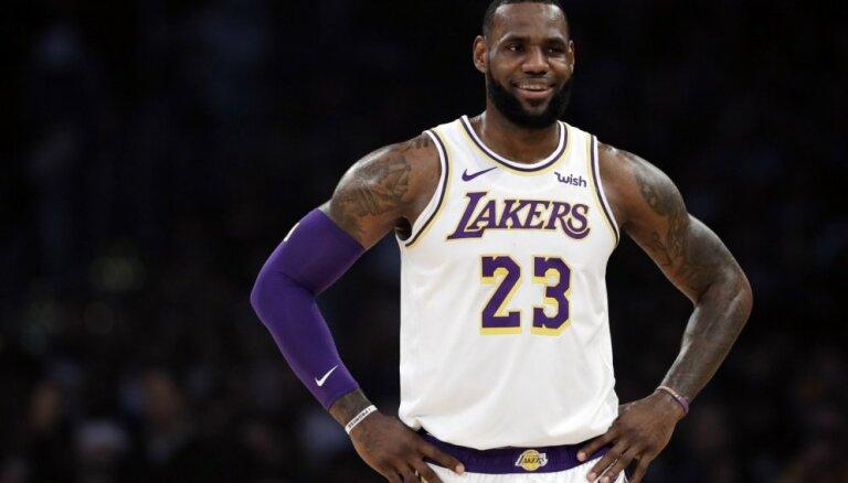 NBA izziņo Zvaigžņu spēles izlašu sākumsastāvus