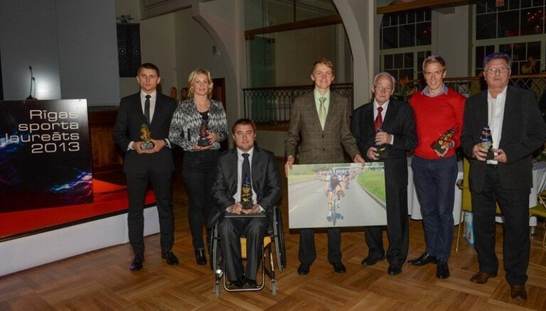 Foto: Apbalvoti Rīgas labākie sportisti, treneri un komandas