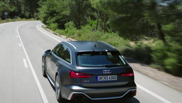 Jaunais 'Audi RS6 Avant' sportiskais universālis ar 600 ZS