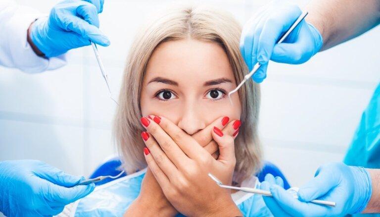 Zobu labošana bez sāpēm un bailēm?
