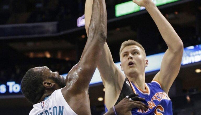 Latvija atgriežas NBA kartē. Porziņģis debitē 'Knicks' rindās