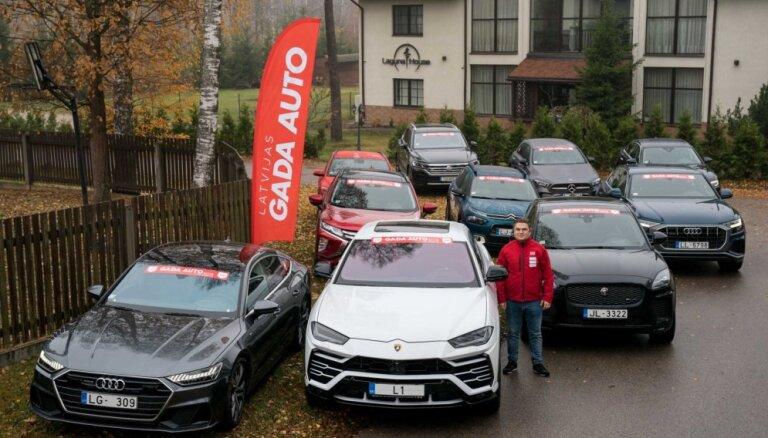 Foto: Aizvadīta pirmā 'Latvijas Gada auto 2019' testa diena