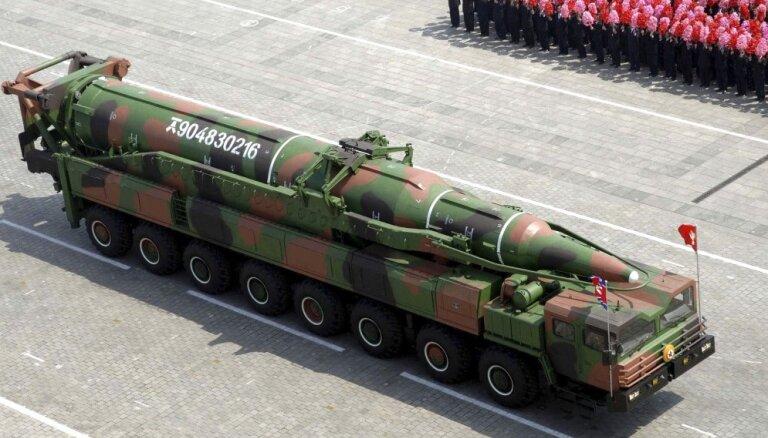КНДР вновь провела запуск баллистических ракет