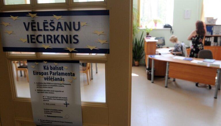 Par EP vēlēšanu iecirkni neinformētās personas trešdien saņems nepieciešamo informāciju