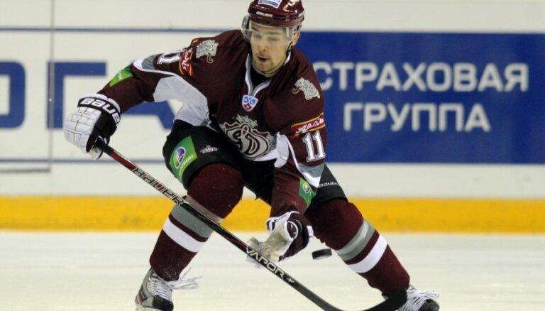 Trīs Rīgas 'Dinamo' spēlētāji kļuvuši par ierobežoti brīvajiem aģentiem