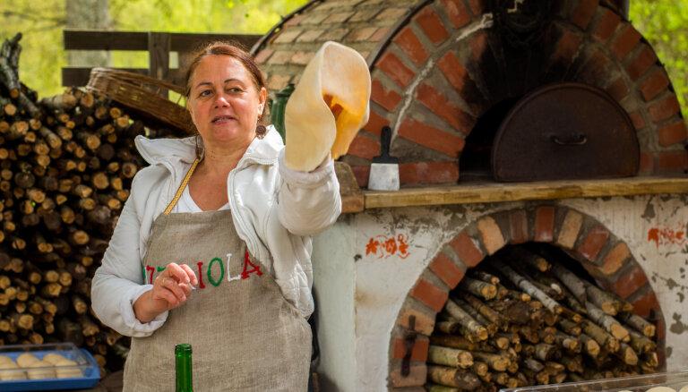 Itālija mani vairs nelaiž vaļā: 'Vīnkalnu' saimniece par praksi ārzemēs