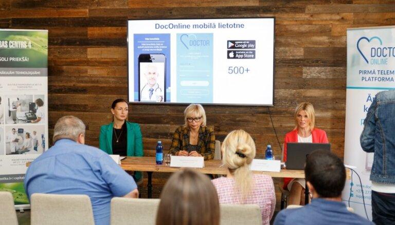 Veselības nozares startaps: telemedicīnas vietnē reģistrējušies 500 pacienti